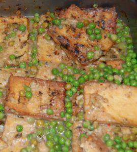 Grilled Tofu Pea-catta