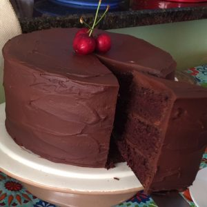 Main Street Vegan - Divinely Decadent Chocolate Stout Cake