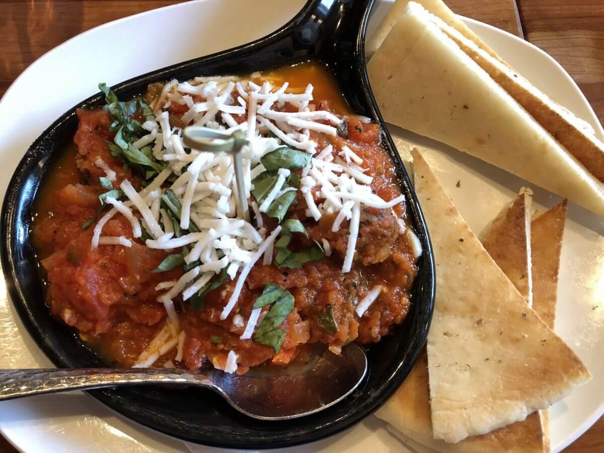 Housemade Vegan Mama's MeetBalls - dinner and a movie