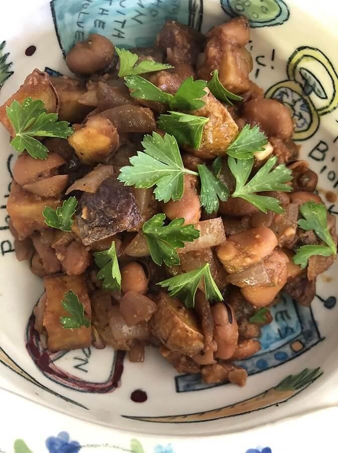 Peasant Italian Food At Its Best – Fava Beans & Potatoes